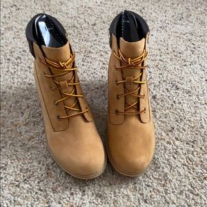 NWT Timberland Boot Wedges